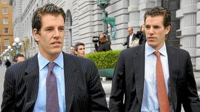 Los gemelos Winklevoss, inversores: $ 3 mil millones cada uno