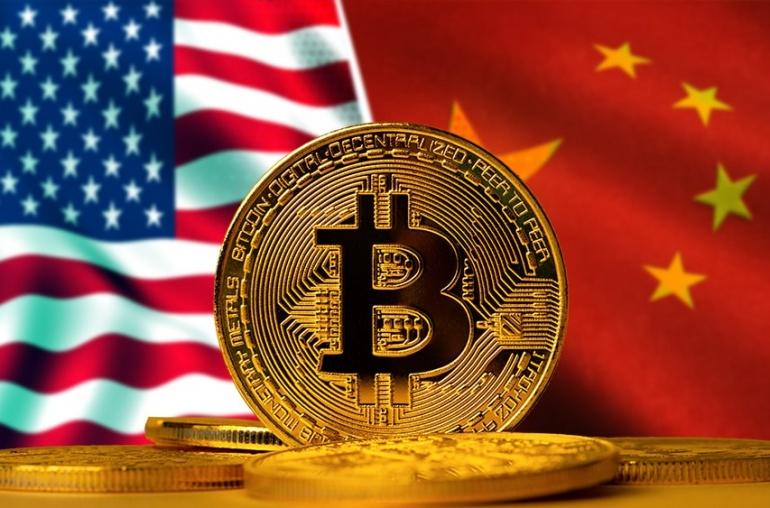 Bitcoin crea guerra financiera entre Estados unidos y China